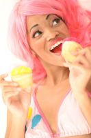 Pinkie Pie Cupcakes by xAleux