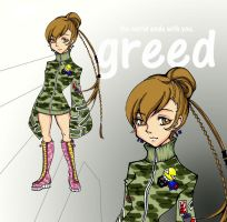 WEWY Hero: Greed by BeaAraneta