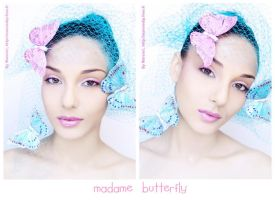 Madame Butterfly 3 by Marciedip
