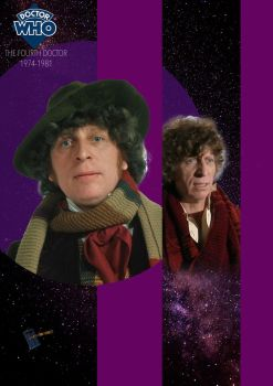 Doctor Who - The Fourth Doctor by StrangeHumanCake