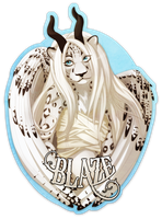 Blaze Badge by Plaguedog