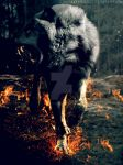 Hound from Hell by WolfRyder42