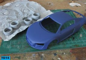1/24 Revell Audi R8 part 1 by Tank-Dragon2014