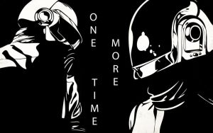 Daft punk stencil by Slop-the-lo