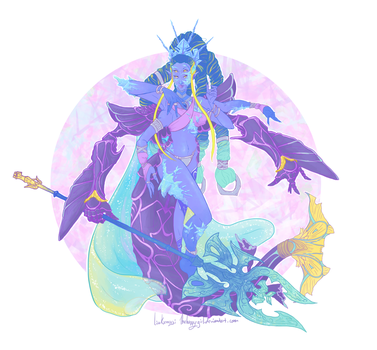 Fusion Shiva by thehappygirl