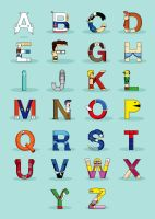 VGC alphabet by Lish0ffs