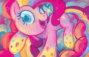 Pinkie Pie Rainbow Power by GhostlyMuse