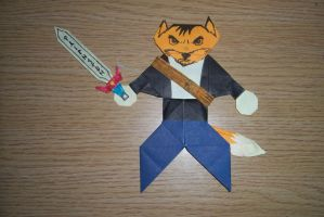 Paperchild Luke the Fox by Dan by Luke-the-F0x