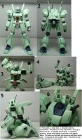 HGUC Jegan Review Part 1: MS and Poseability by Blayaden