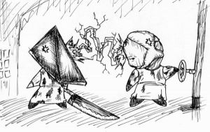 Pyramid and Valves by mr-o