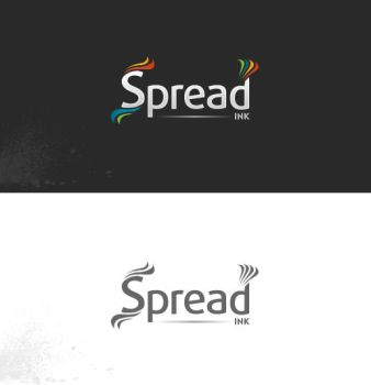 Spread Ink Logo by CandidoNeto