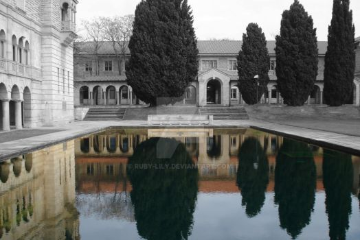 Reflection Pond by Ruby-Lily