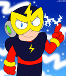 MM - Just Elec Man by LuigiStar445