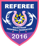 Equestria Hoofball Federation Referee Badge (2016) by RedCard94