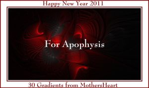New Year 2011 30 Gradients by MothersHeart