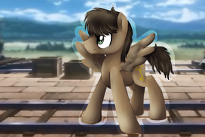 Attack on Pony- Eren Jaeger by InkBlu