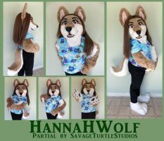 Hannahwolf Partial by JakeJynx