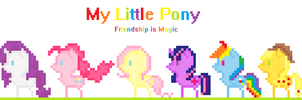 My Little Pixel: 8-Bit is Magic by SoupInsanity