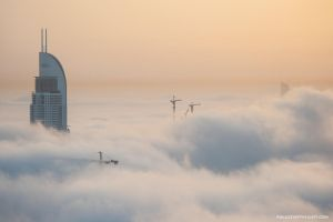 Sunrise on Planet Bespin by VerticalDubai