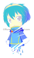 Chibi Marth virus by ffure21