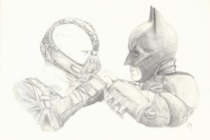 The Dark Knight Rises by TheJediClone