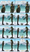 Master Chief's Pets 1 by Swashbookler