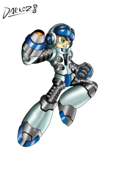 A New Hero - Mighty No.9 by Darkoz96