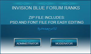 Invision Blue Forum Ranks 2.0 by bry5012