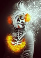 DayofTheDead Prompto by nicegal1