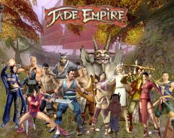 Jade Empire characters by JaneShepard89