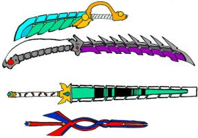 Cyber Swords by Sekitonbo
