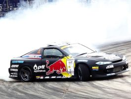 Redbull Drift Team Thailand Nissan 200SX by sudro