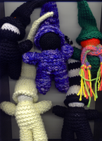 my little knitted demons. by LoveoftheDark