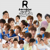 REBLUE's PNG EXO Pack (1) by l0vehcl