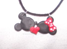 Mini and Mickey Mouse by Barbarit