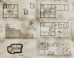 Hawk mannor - map for DnD by Squirrel-slayer
