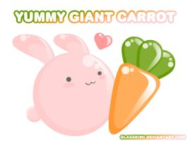 Yummy Giant Carrot by glasskiwi