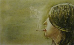 the cigarette by Fleret