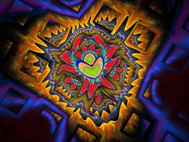 Aztec Fractal by Virginia-Fred