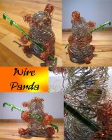 Wire panda by adhpv
