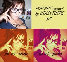 Pop art series 1 by hear3there