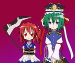 Lucky star touhou? by sab-chan
