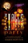 Haunted Halloween Party Flyer by Dilanr