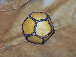 2nd leather ball attempt b by MerrillsLeather