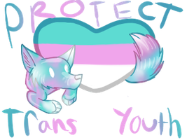 Protect Trans Youth by SnivelGriffoon