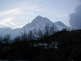 Winter Mountain by Ivette-Stock