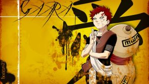 Gaara Wallpaper by bonez621