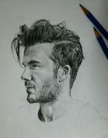 David Beckham - WIP by Ariba-05