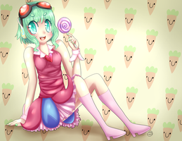 [Gumi] Candy Candy by SleepyCelestial