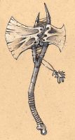 bone axe by Tastycake